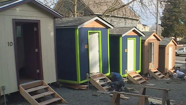 Reno S Tiny House Village For The Homeless Seeks Community