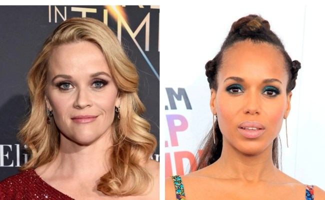 Reese Witherspoon Kerry Washington Head To Hulu For