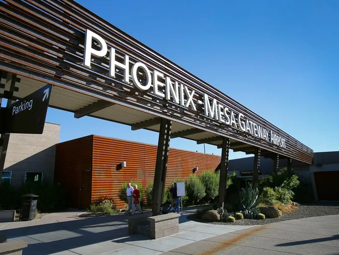 PhoenixMesa Gateway Airport aggressively pursuing new