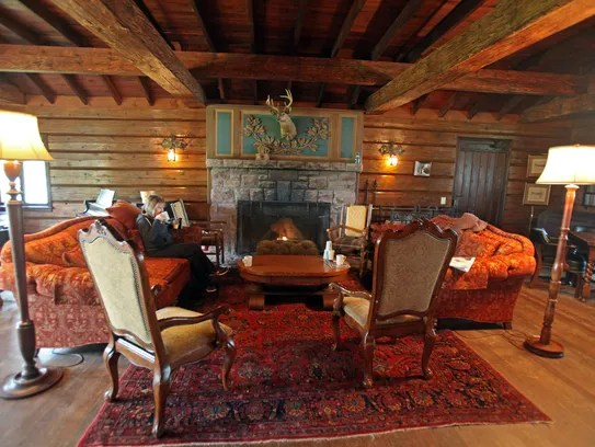 Stouts Island Lodge is a step back in time on a private