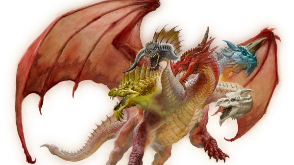 Dungeons and Dragons Tiamat