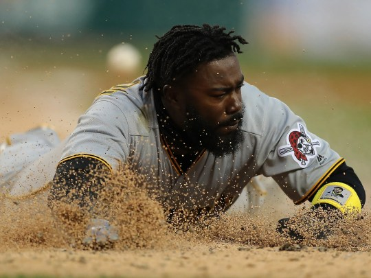 Josh Harrison hit only eight at home in 97 games with the Pirates in 2018.