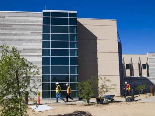 The hospital hired local architectural firm Orcutt