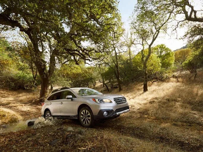 The 2015 Subaru Outback.