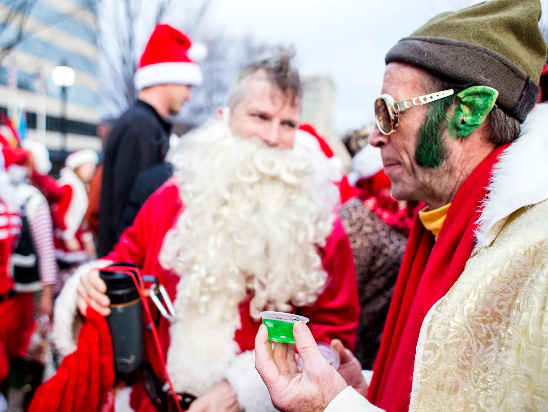 Asheville Santacon 2014 Celebrates The Holidays With A Twist