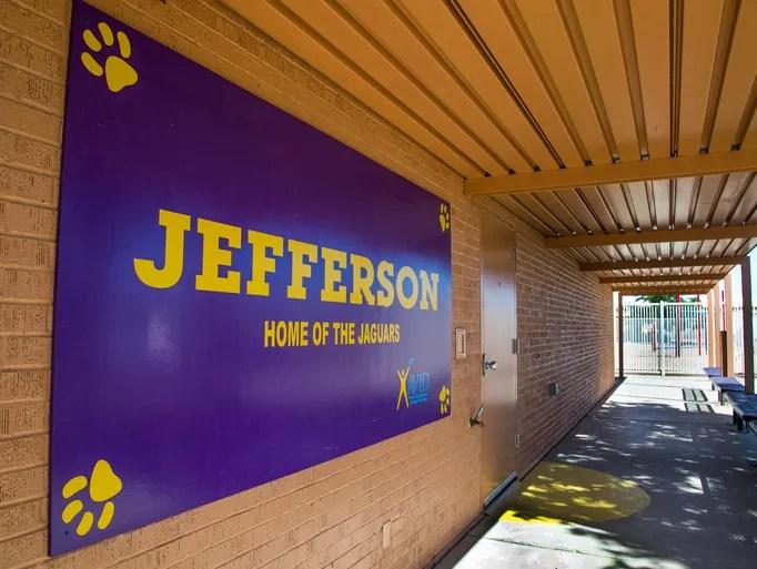 Jefferson Elementary School in Mesa