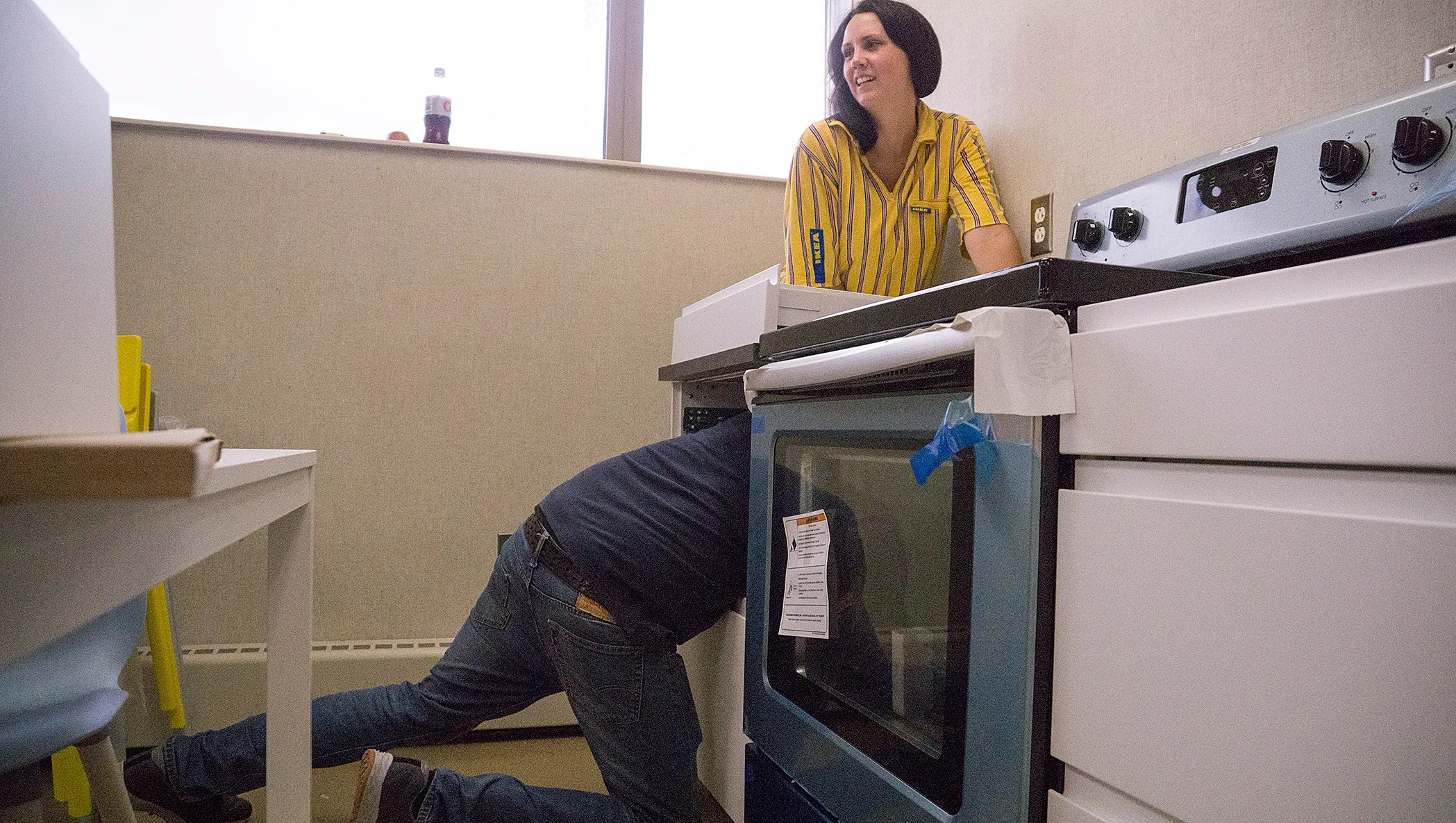 Ikea Donation Takes Youth Center Kitchen From Drab To Chic