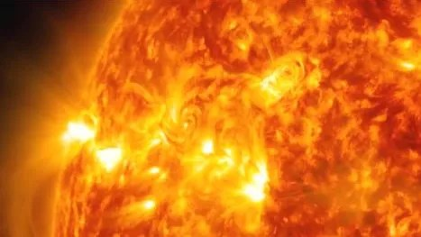 Watch Nasa Releases Footage Of Spectacular Solar Flare