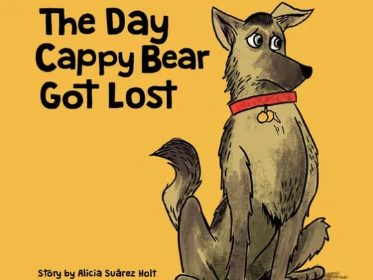 "La portada del libro ""The Day Cappy Bear Got Lost"""