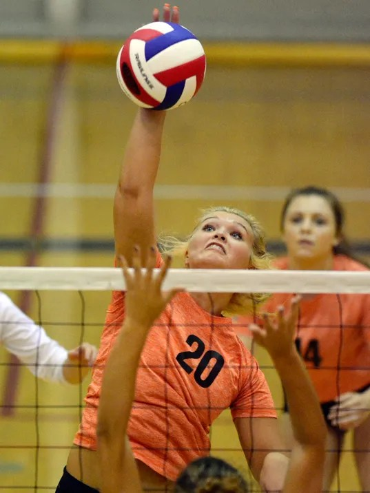 Spring Grove vs. Central York girls' volleyball