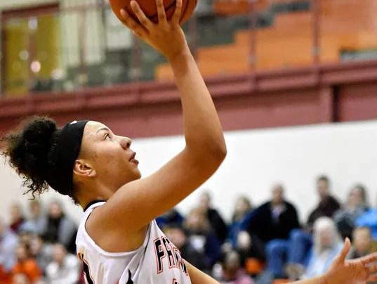 Eastern York vs Central York girls basketball