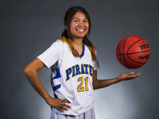 Sanders Valley sophomore guard Valiyah Yazzie is a