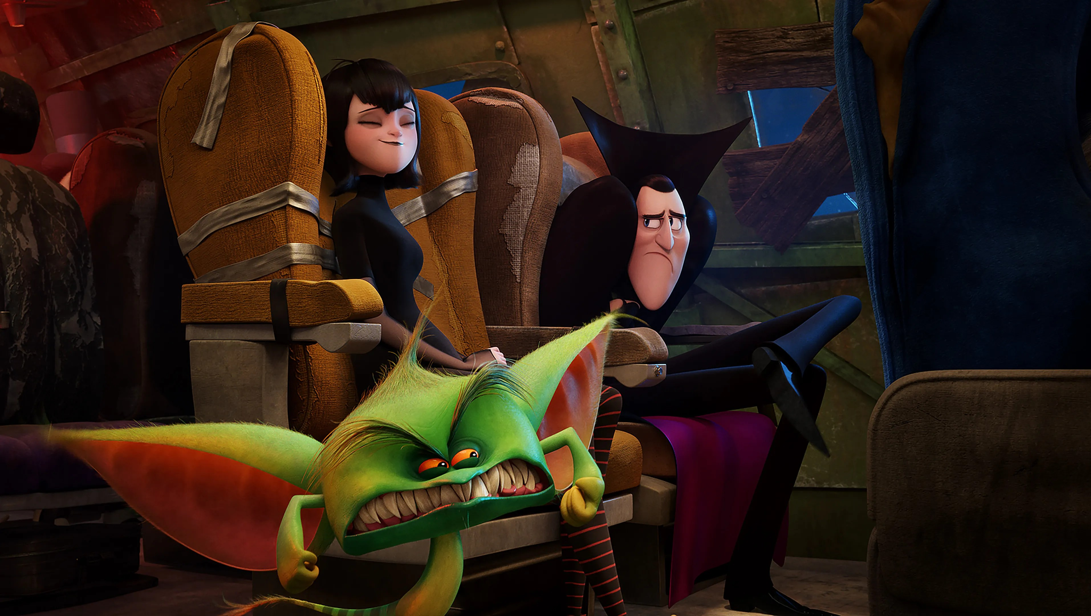 'hotel Transylvania 3' Vampire Love Abounds In Silly