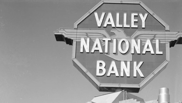 Valley National Bank Sign In Phoenix Saved Man'