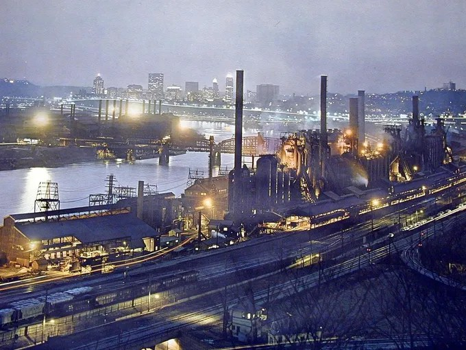 Pittsburgh Steel Mills Today