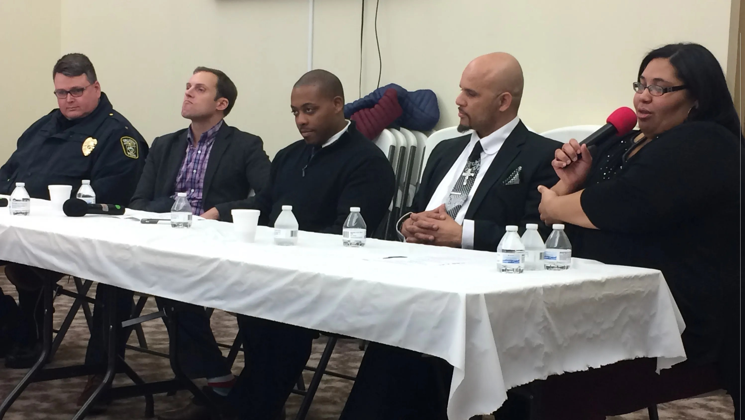 Naacp' Mlk Panel Leads Call Action Local Youth
