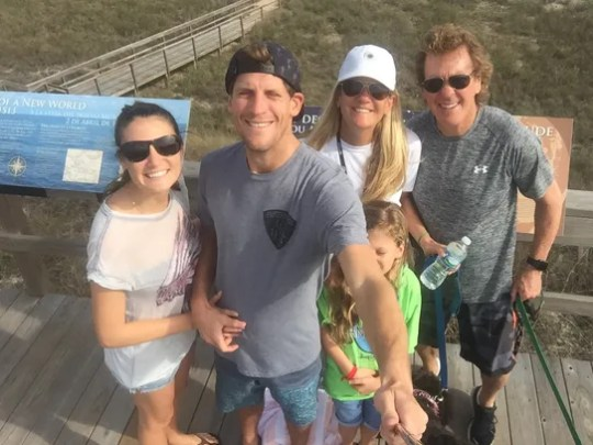 From left, Brooke Keating, Charlie Keating, Krista