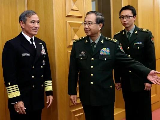 APTOPIX China US South China Sea