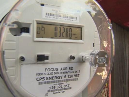 CPS Energy smart meter