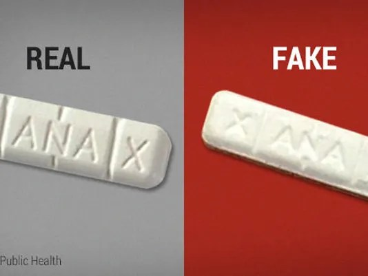 Illinois State Police warn of counterfeit Xanax