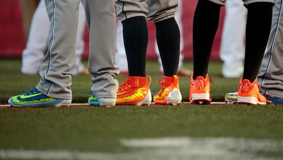 All Stars Show Off Shoes At GABP