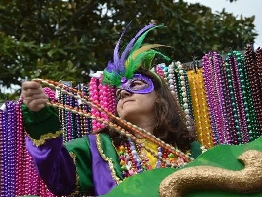 Alexandria Gras Louisiana Mardi