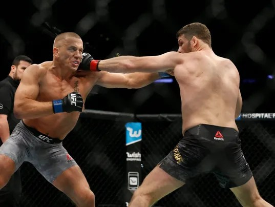 USP MMA: UFC 217-BISPING VS ST-PIERRE S MMA USA NY