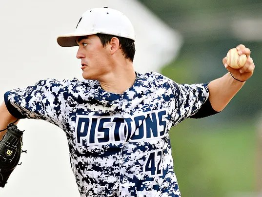 """East Prospect vs Windsor Susquehanna League baseball"""
