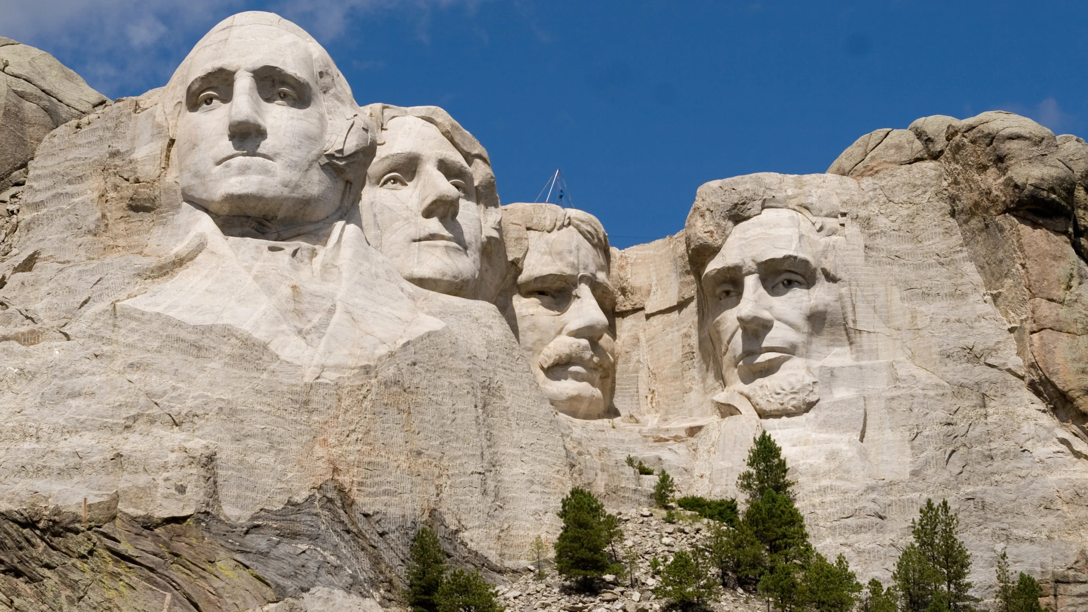 More glasses needed for Mount Rushmore presidents