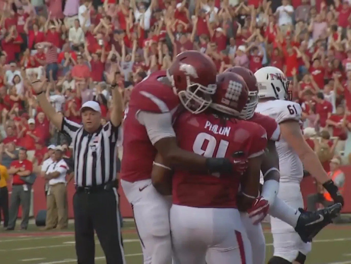 brand new ca21a 00c18 Former Hog Darius Philon drafted by San Diego Chargers | USA ...