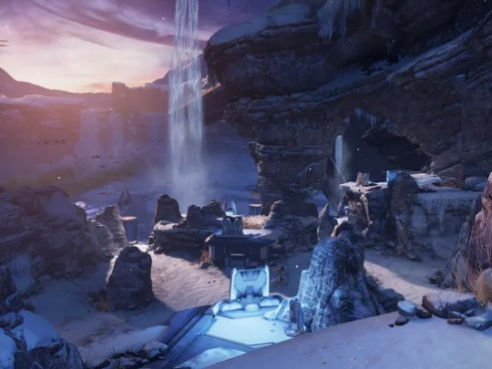 A screen shot from the video game 'Halo 5: Guardians.'