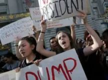 Anti-Trump protests continue around country
