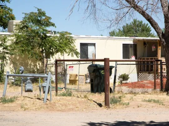 The home where 10-year-old Christian Pearson was suspected