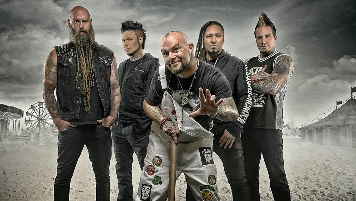 Five Finger Death Punch Breaking Benjamin To Co Headline