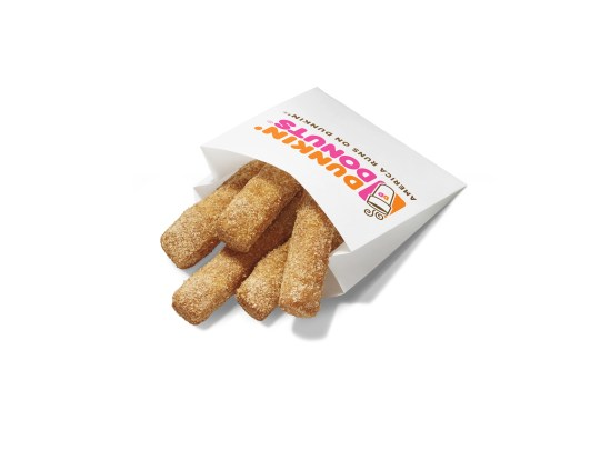 Dunkin' Donuts has launched Donut Fries nationwide.