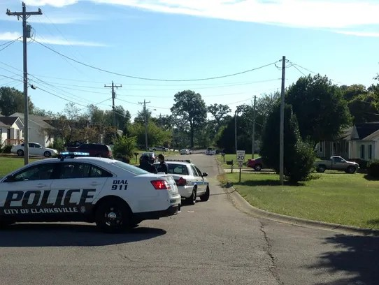 Police were still at the scene at 9:30 a.m. Monday