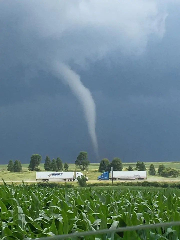 Tornado Causes Significant Damage To Eastern Iowa Town