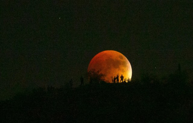 635791457705217362-Moon-2 January 2019: Super blood moon, meteor showers and more light up night sky this month