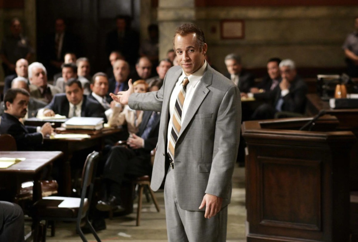 """Sent to prison on a drug charge, Jackie Dinorsio (Vin Diesel) refuses to turn a government witness against his former associates in the New Jersey Lucchesi crime family in """"Find Me Guilty."""""""