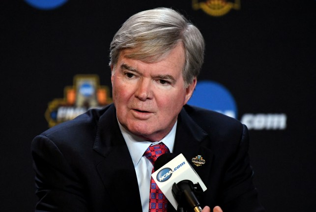 NCAA president Mark Emmert says California law could turn athletes into employees  'pretty fast'
