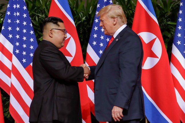 US plane leaves North Korea with remains of American soldiers killed in war, White House says