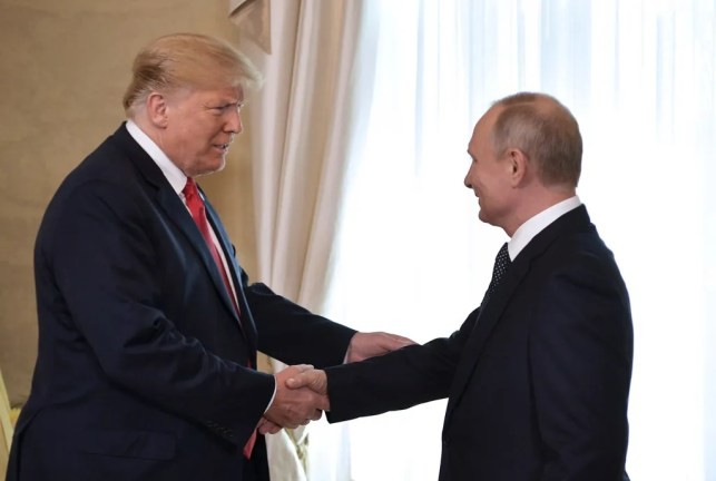 Dear Donald Trump, stop acting like Putin's puppet. Do your job. Protect our elections.