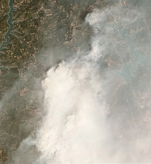 The Carr Fire is the sixth most destructive in California history and largest of the many wildfires now burning in the state. It is not an anomaly.