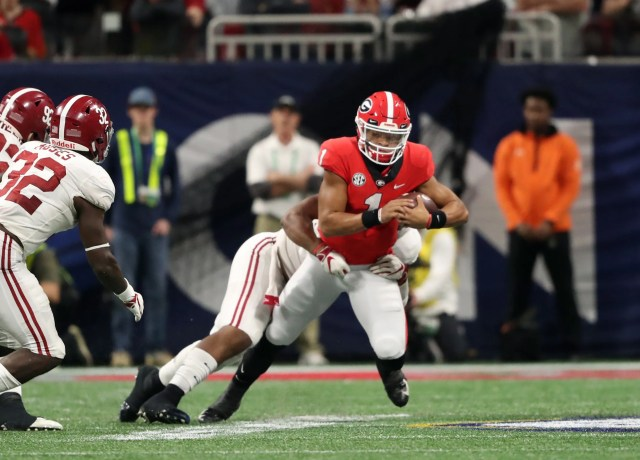 aa-football_-sec-championship-alabama-vs-geo-1 Ohio State quarterback Justin Fields ruled immediately eligible by NCAA
