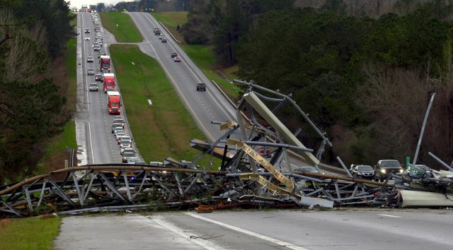 636872782351994872-AP-Deep-South-Severe-Weather Resident in rural Alabama community hit by twister: 'I thought I was gone'