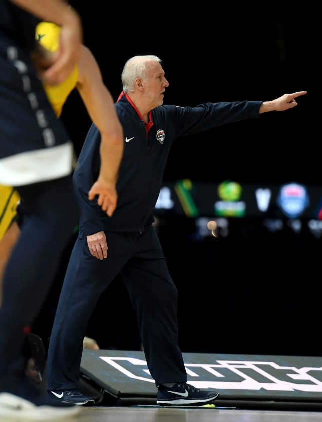 Boomers leave for World Cup after upset win over Team USA