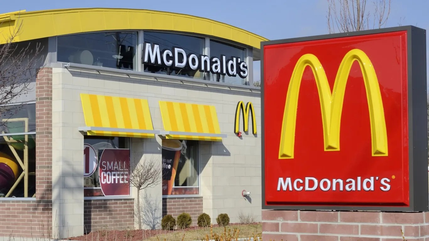 McDonald'sannouncedin May it would raise hourly wages for employees at company-owned restaurants over several months by an average of 10 percent.