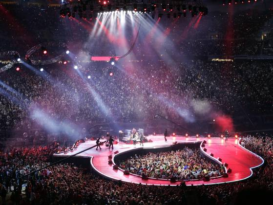 Rolling Stones stage
