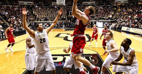 Image result for indiana vs purdue basketball 2013