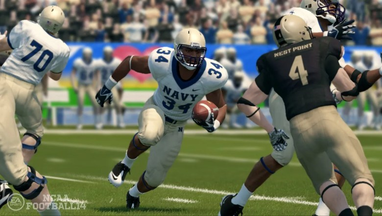 Review: 'NCAA Football 14' steps up its game